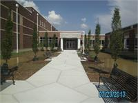 Front of Eaton MIddle School