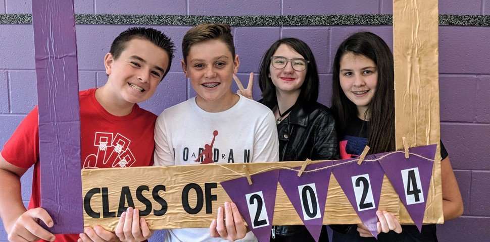 4 students class of 2024