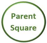 Circle Outlined in Green with Parent Square Text